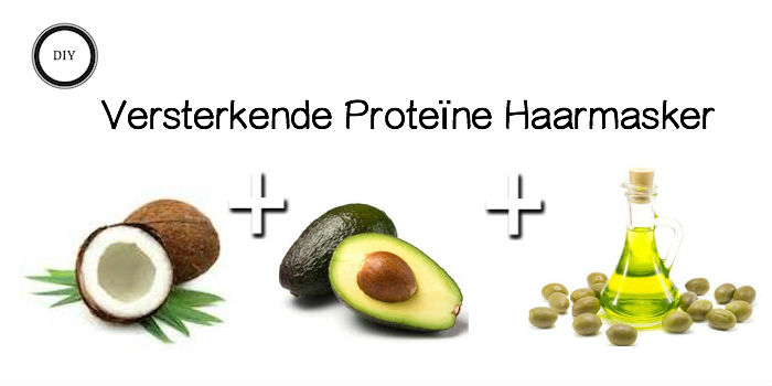diy Versterkende proteine haarmasker