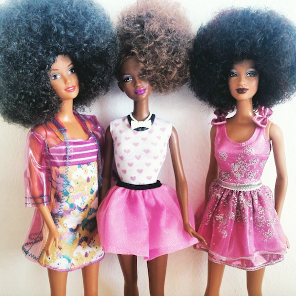 Natural Hair Barbies