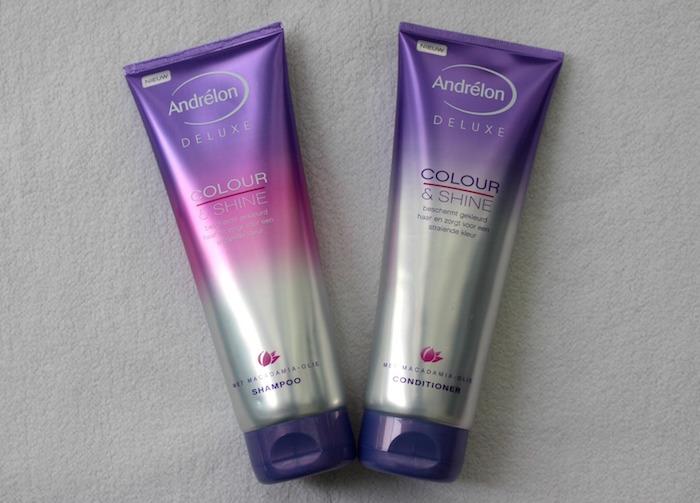 colour & shine shampoo conditioner