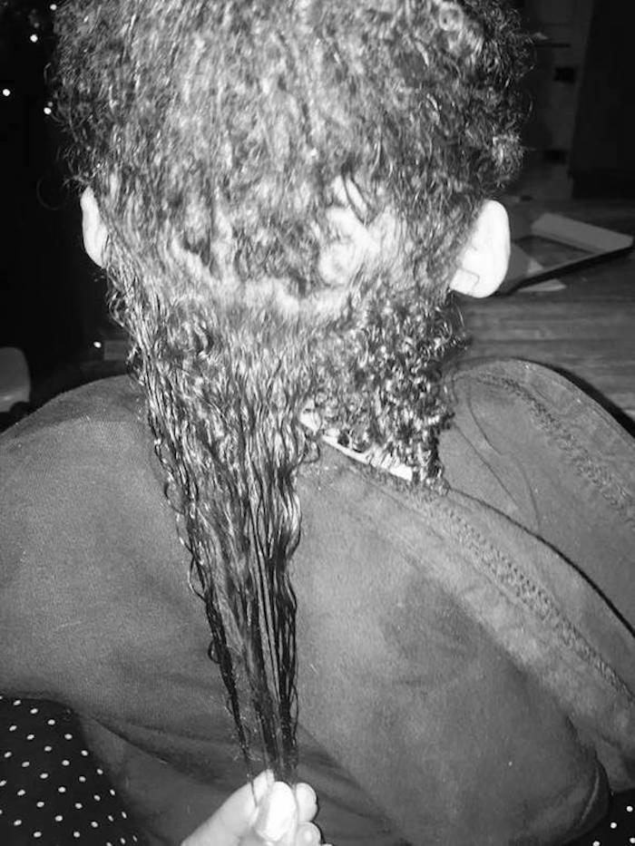 Shrinkage hair