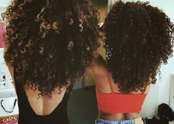 Curly girls Instagram