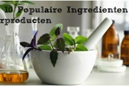 Top 10 Populaire Ingrediënten In Haarproducten