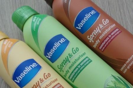 Review: Vaseline Spray & Go Body Moisturizer