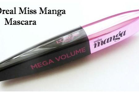 L'oréal Miss Manga Mascara