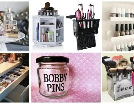 12 Geweldige Manieren Om Je Beauty Producten Te Organiseren