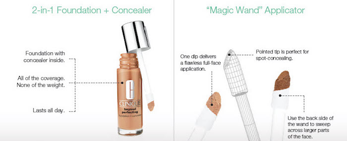 Clinique Beyond Perfecting applicator