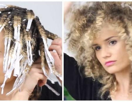 Van Steil Haar Of Losse Krullen Naar Een Curly Fro