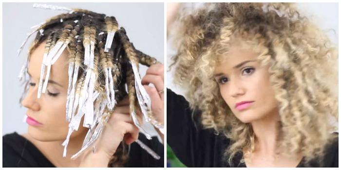 van steil haar of losse krullen naar een curly fro   curly hair talk