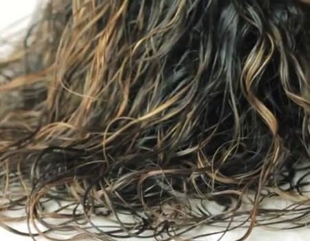 Hair Plopping Voor Pluisvrij Haar