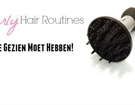 10 Curly Hair Routines Die Je Gezien Moet Hebben