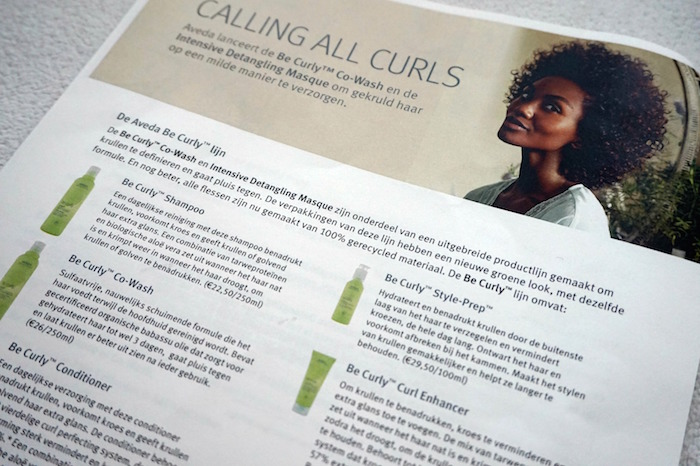 Aveda Be Curly Producten