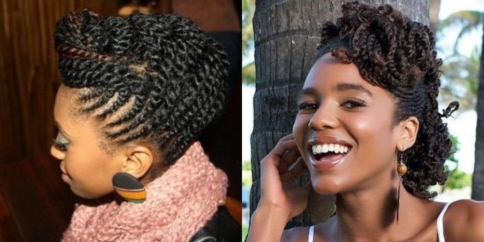 3 Snelle Haarstijlen Met Two Strand Twists