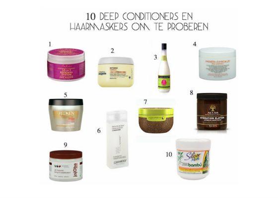 Shoptip: 10 Deep Conditioners En Haarmaskers Om Te Proberen