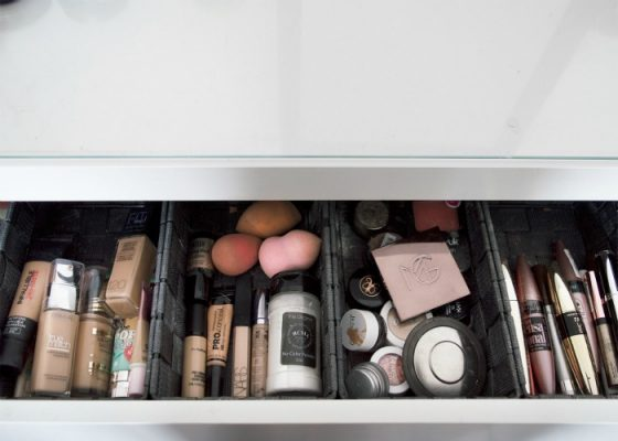 4 Tips Voor Het Opbergen Van Make-Up